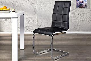 luxusná dizajnová stolička do kuchyne alebo jedálne