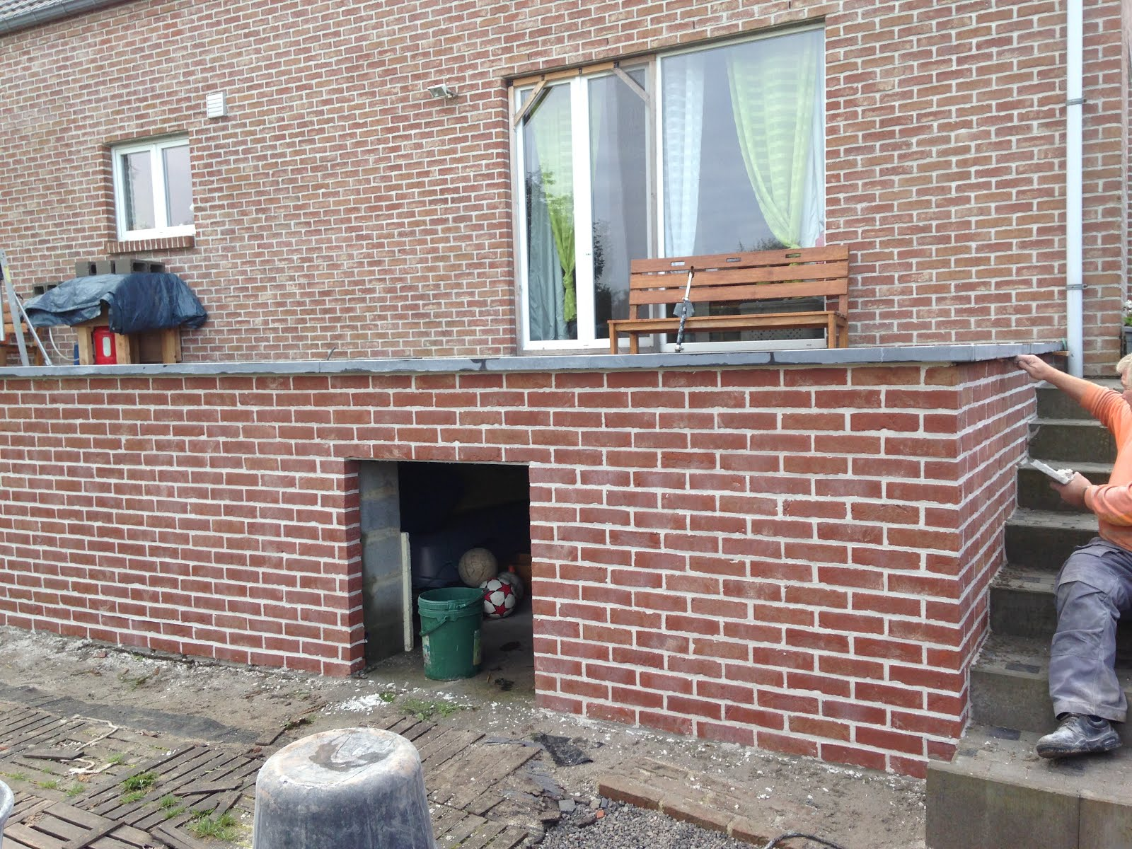 D 39 hondt alexandre construction sprl - Decoratie friterie ...