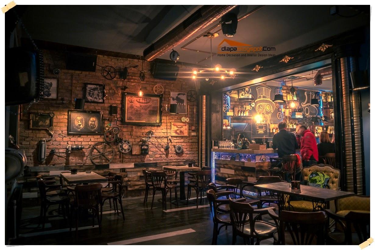 Steampunk Joben Bistro Pub Inspired by Jules Verne's Fictional Stories