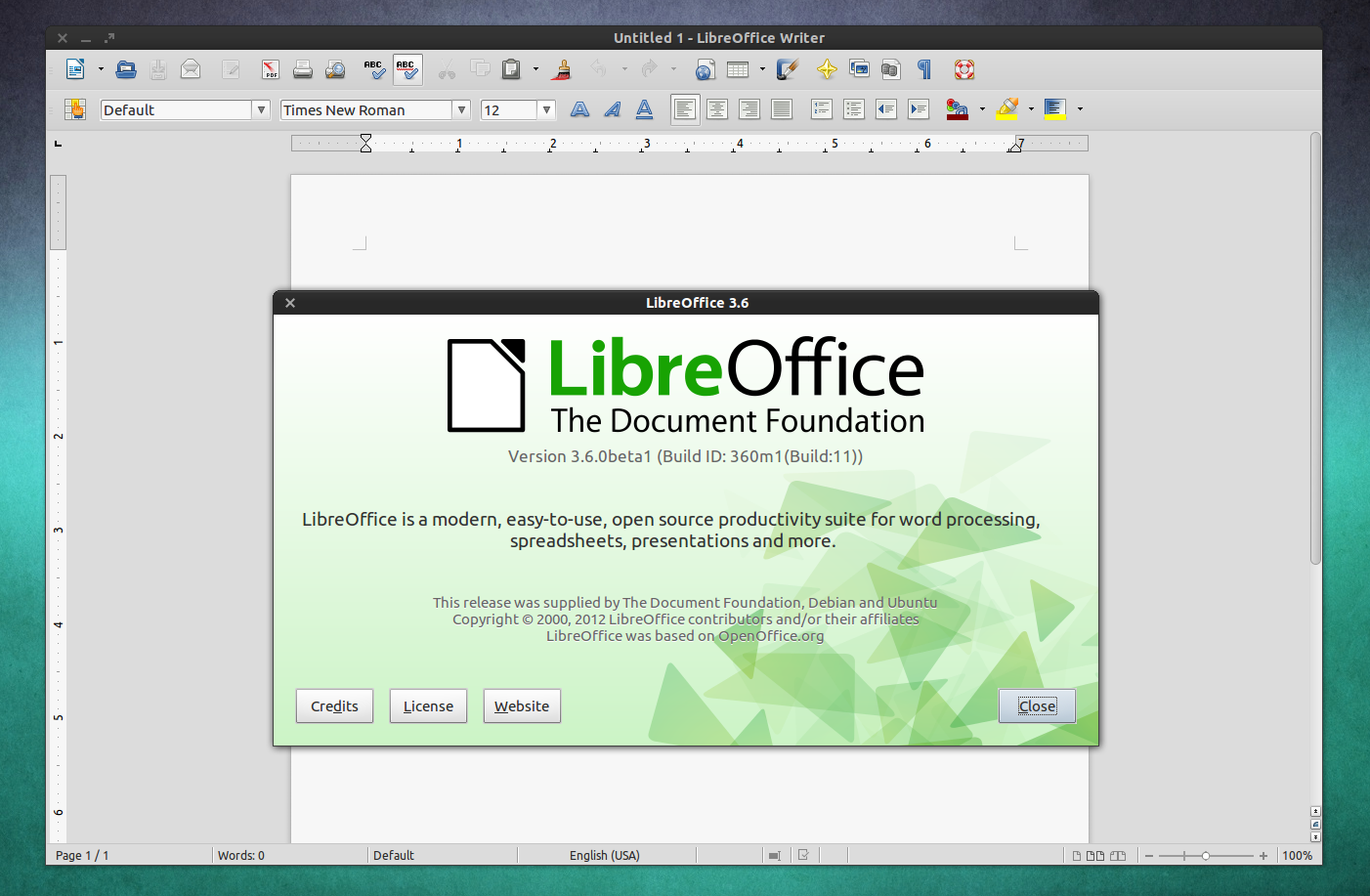 Libreoffice 3 6 0 beta 1 released ubuntu ppa - Open office vs office libre ...