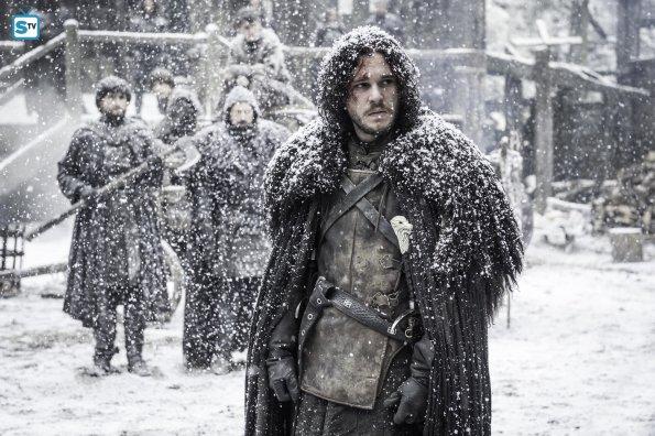 Game of Thrones 5x09 - Jon Nieve