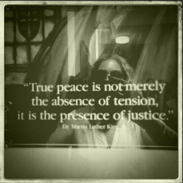 via beyonce tumblr, Martin Luther King Jr., Justice