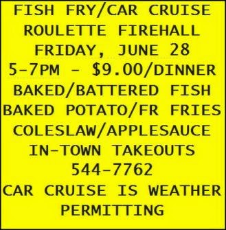 6-28 Fish Fry / Car Cruise