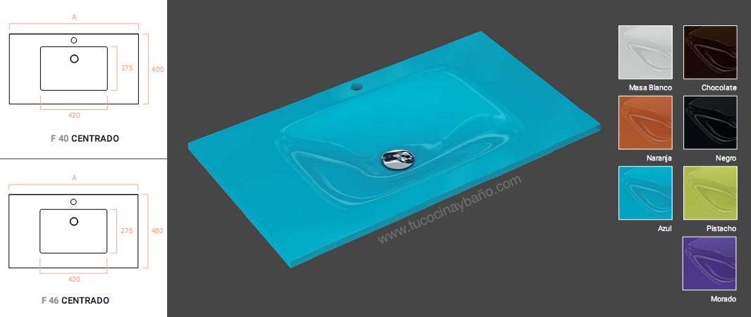 color lavabo cristal kalimnos