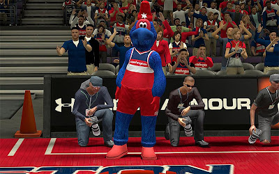 NBA 2K13 Washington Wizards Mascot Patch