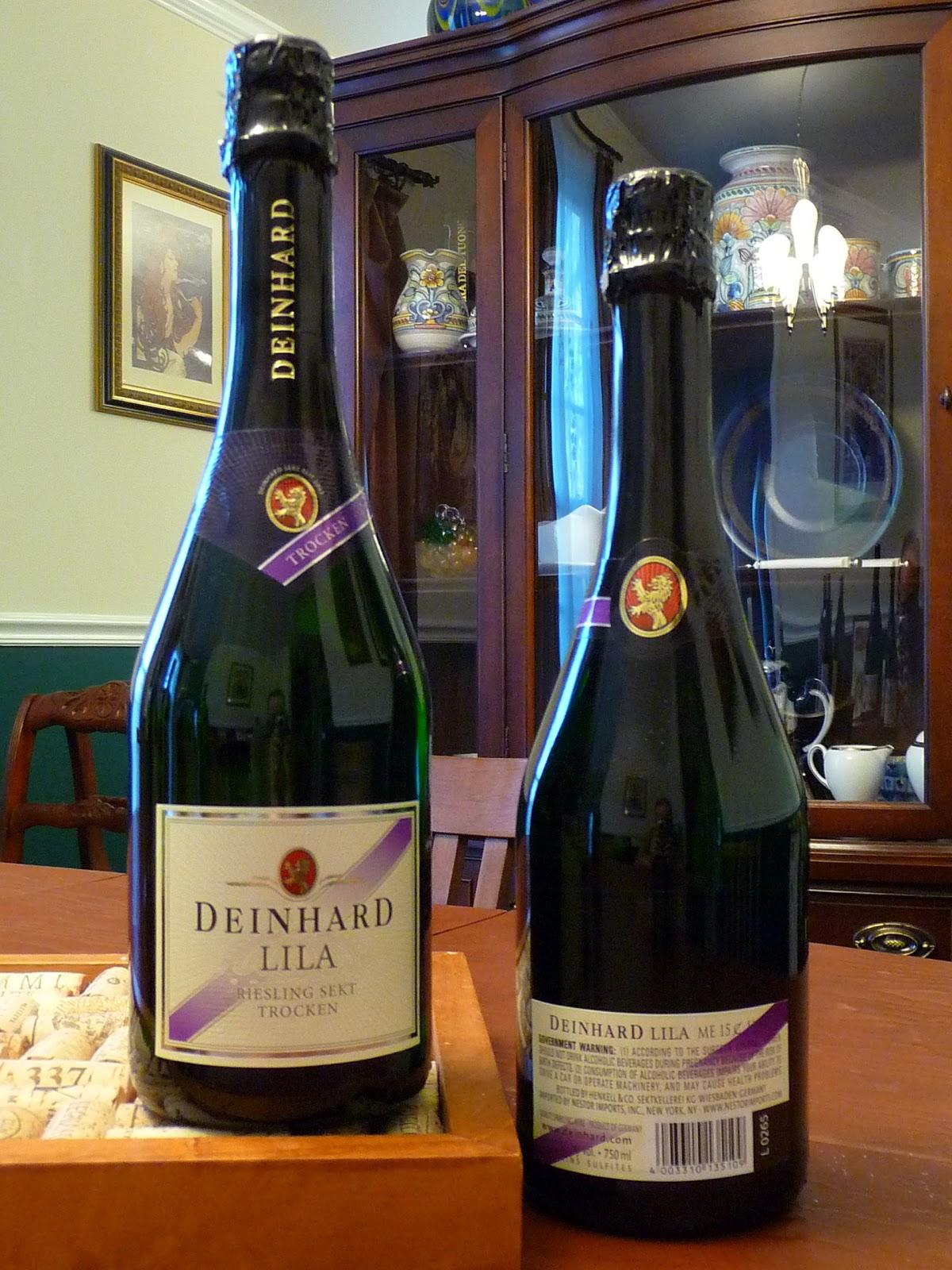 Chef bolek an autumnal wine pairing for Deinhard wine