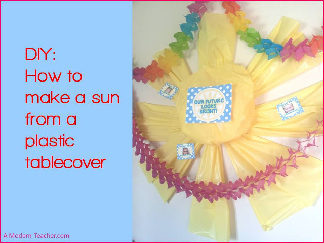 DIY How to make a sun A Modern Teacher