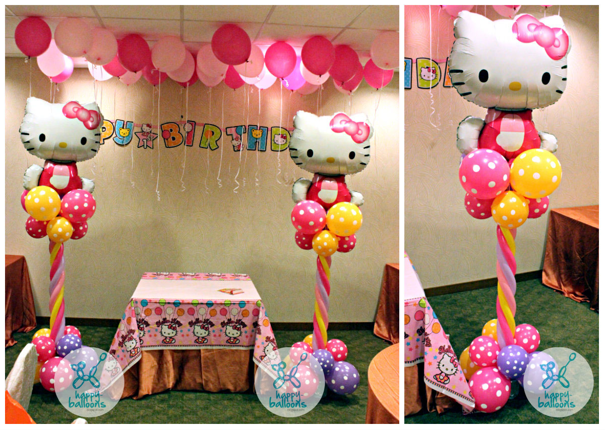Hello kitty party centerpiece ideas imgkid the