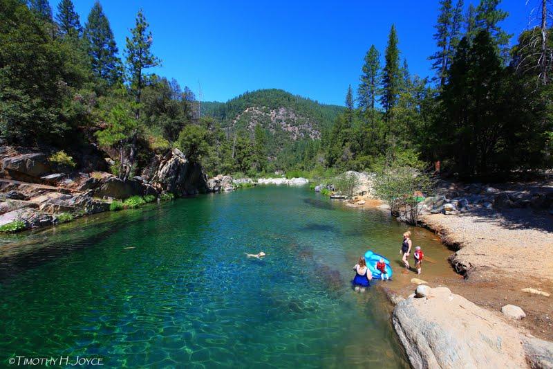 Swimming Holes Of California Gold Quartz South Fork Yuba River