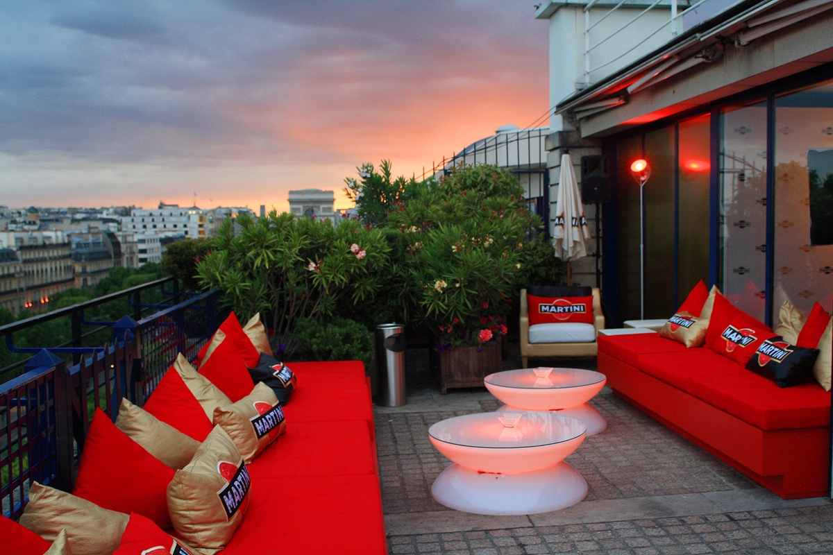 Terrazza Martini in Paris : hotspot alert on the Champs-Elysées ...