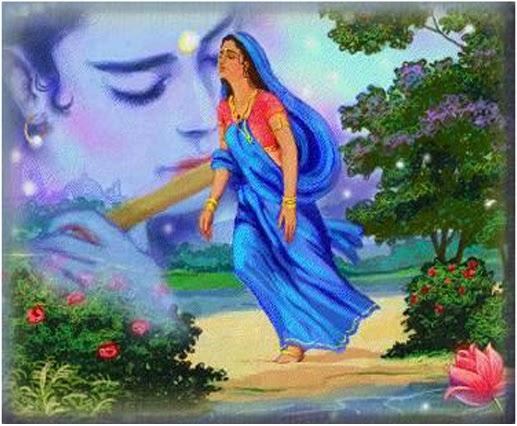 nice image of radha krishna