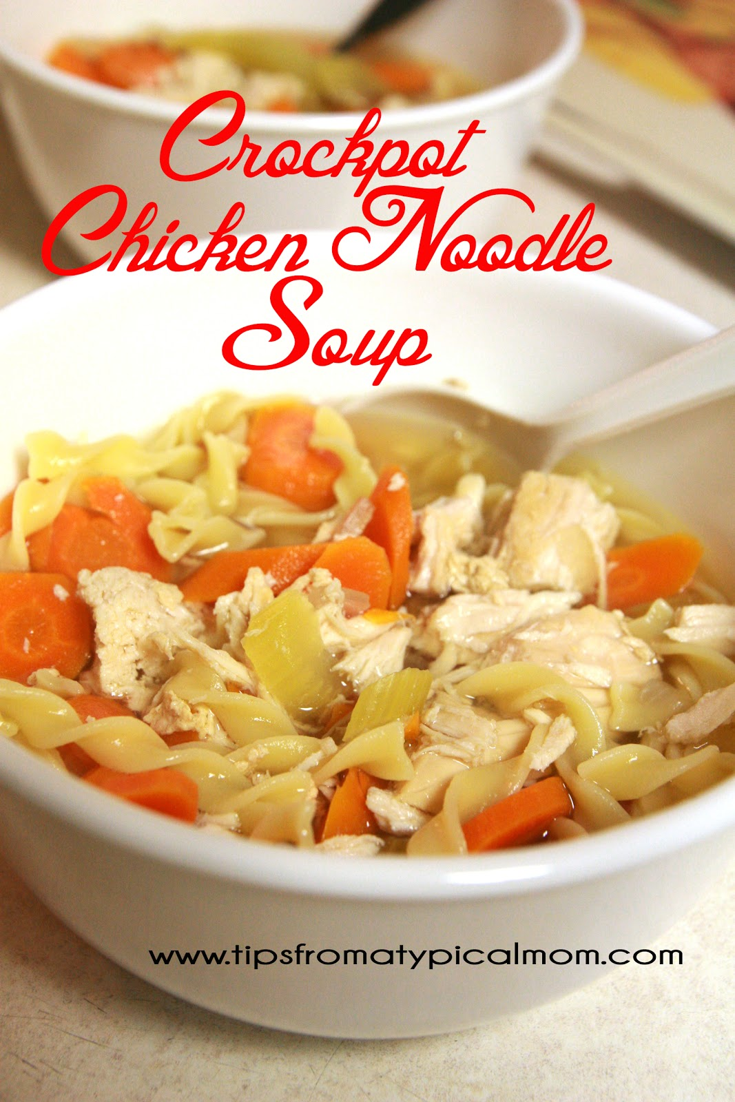 crockpot chicken noodle soup recipe tips from a typical mom