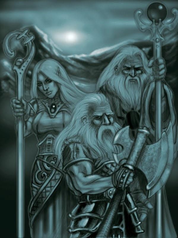 Tiyarnon, Nimaira Silvershade & Rolin Hardbeard