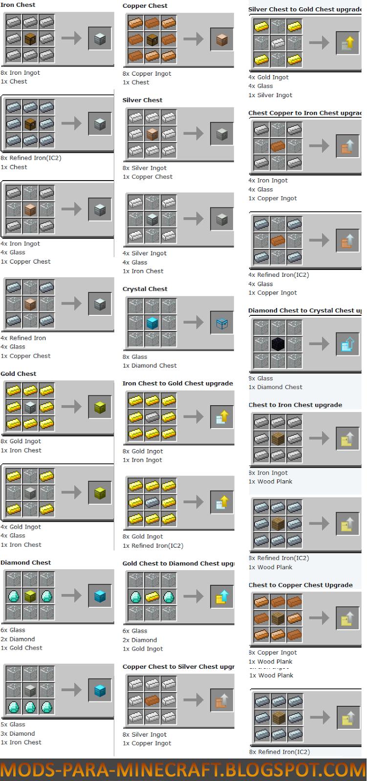 Скачать мод Iron Chests для Minecraft 1.7.10 бесплатно ...