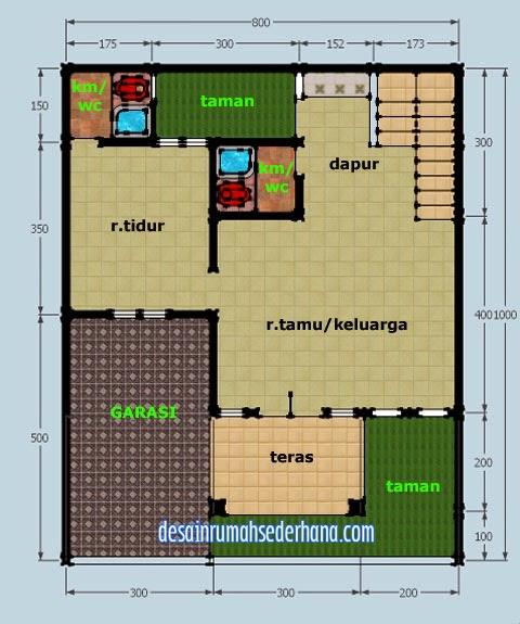 gambar rumah 2 lantai untuk hook kpr type 21 60 desain
