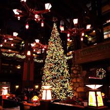 Disneyland Grand Californian Hotel Christmas