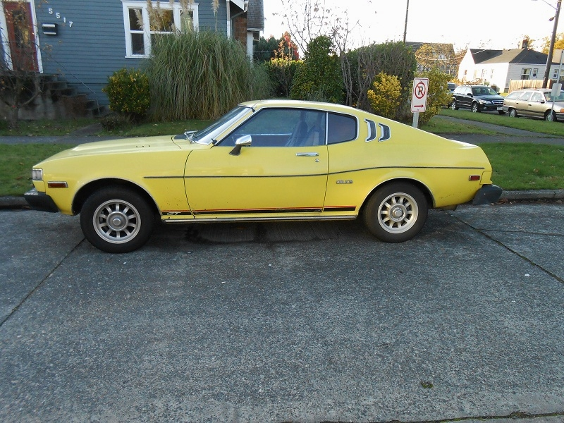 Seattle S Parked Cars 1976 Toyota Celica Gt Liftback