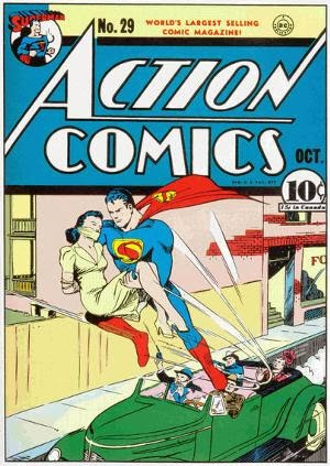 Action Comics #29 comic book cover image