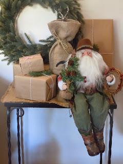 Texas Santa, unwaveringme.blogspot.com