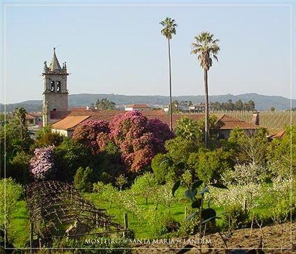Mosteiro Santa Maria de Landim, em Portugal