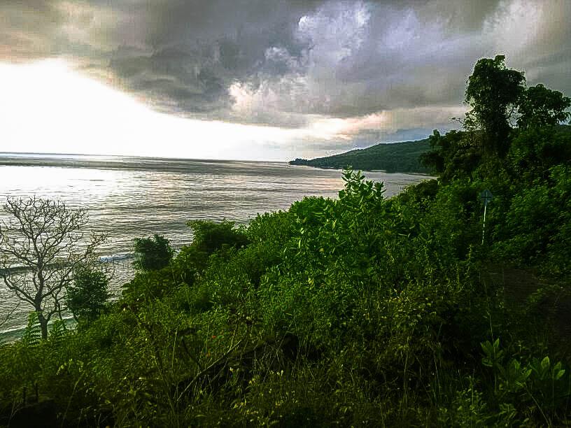 View Timur Lokasi Tanah yang Dijual