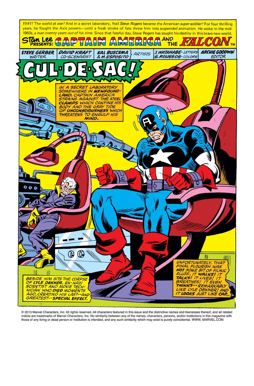 Captain America (1968) Issue #221 #135 - English 2