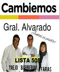 CAMBIEMOS GRAL. ALVARADO
