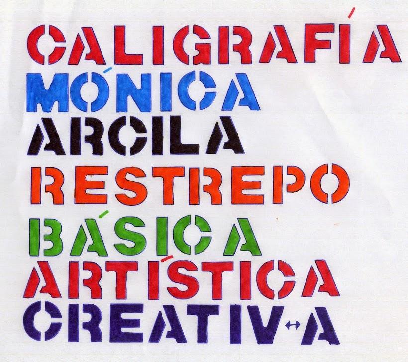 Caligrafía Mónica Arcila Restrepo