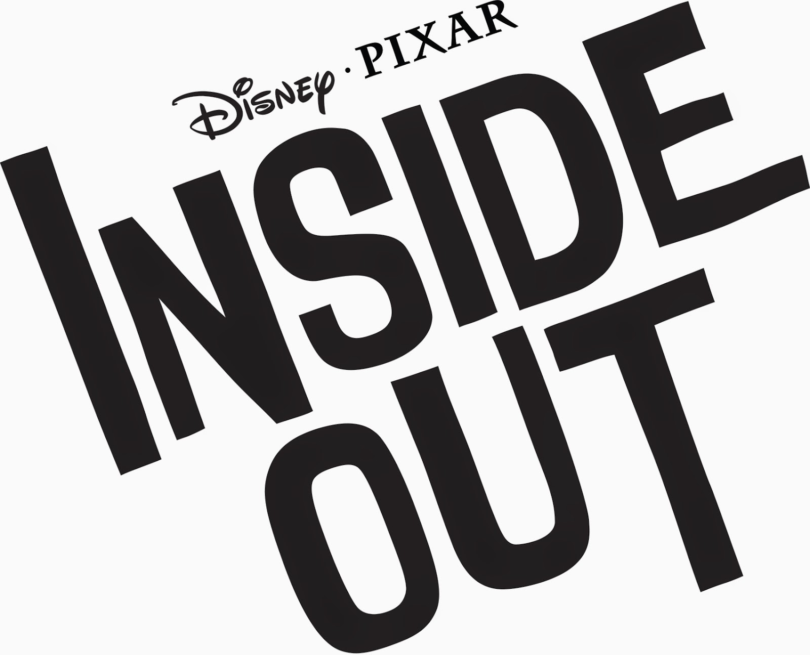 Pixar Inside Out Movie Logo