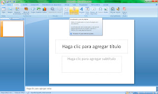 Pie de diapositiva Powerpoint 2007