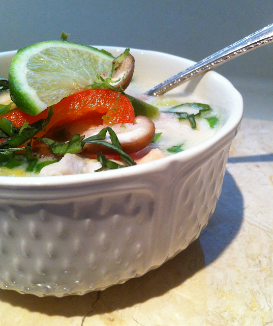 Jilly...Inspired : Thai Coconut Chicken Soup