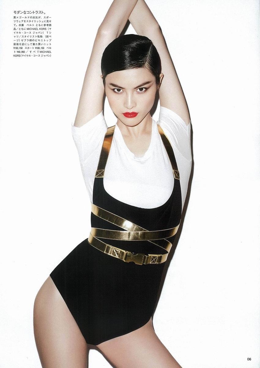 ASIAN MODELS BLOG: EDITORIAL: Sui He in Vogue Japan, December 2011