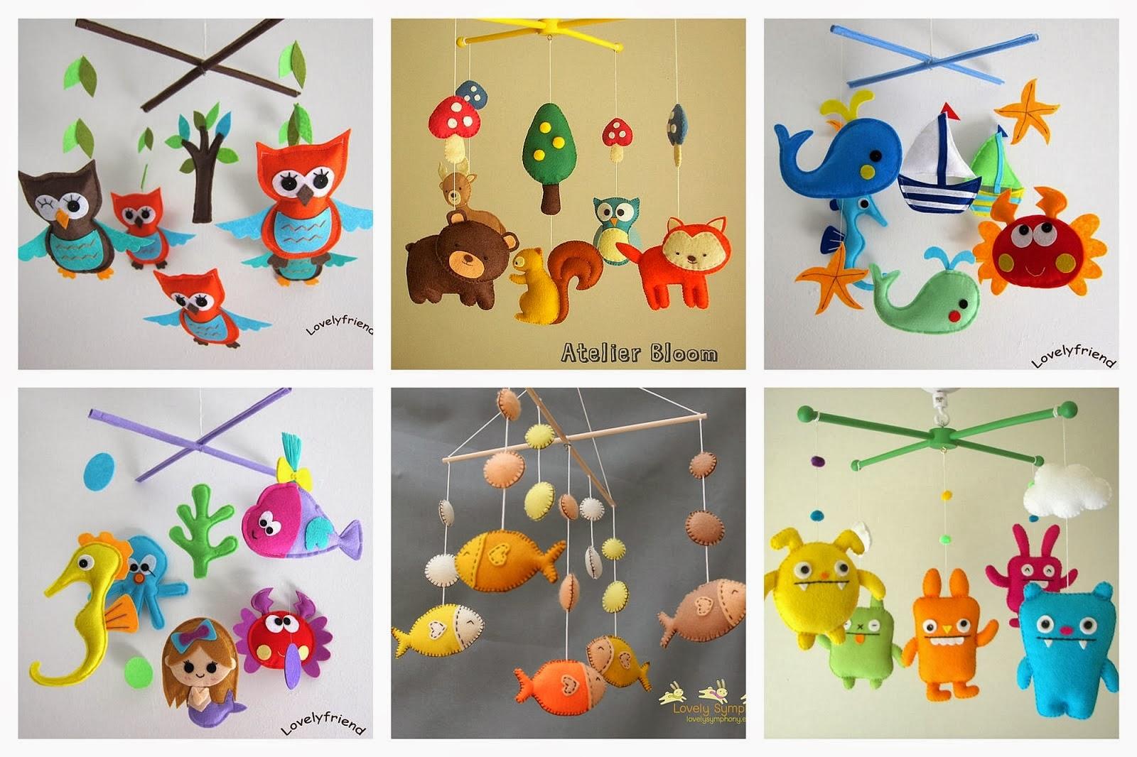 Игрушки из фетра своими руками для новорожденных