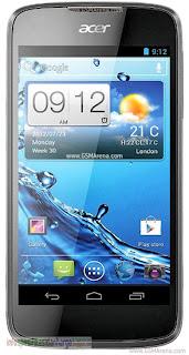 Harga ACER Liquid Gallant Duo E350 Ponsel Terbaru 2012
