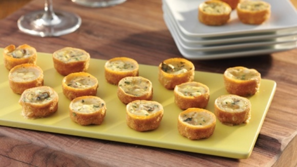 Tartelettes Aux Champignons Et Fromage De Chèvre