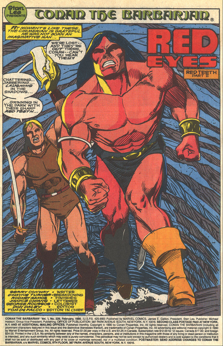 Conan the Barbarian (1970) Issue #229 #241 - English 2