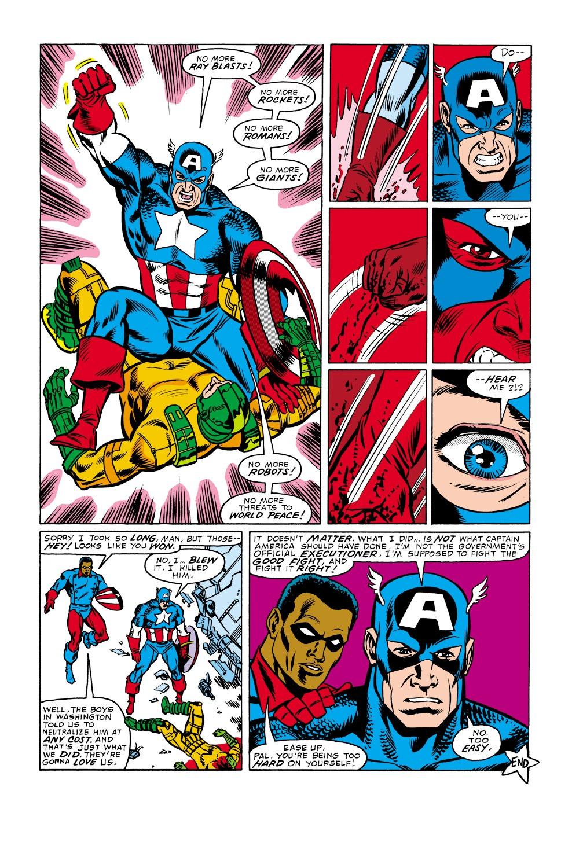 Captain America (1968) Issue #338 #267 - English 23