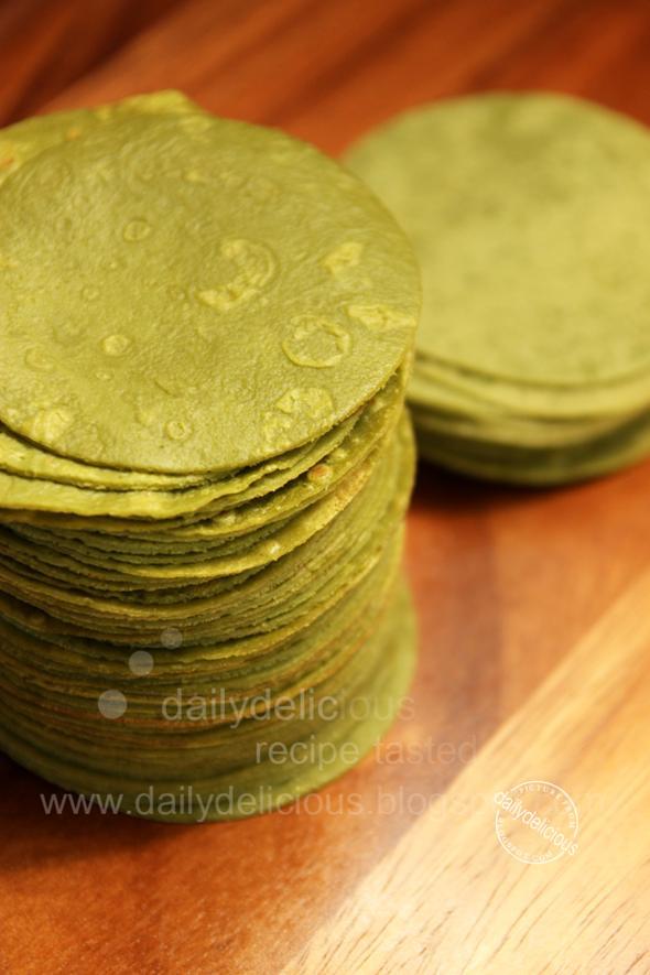 Matcha Crepe Cake Recipe