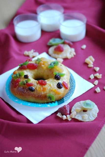 Roscón de Reyes sin lácteos