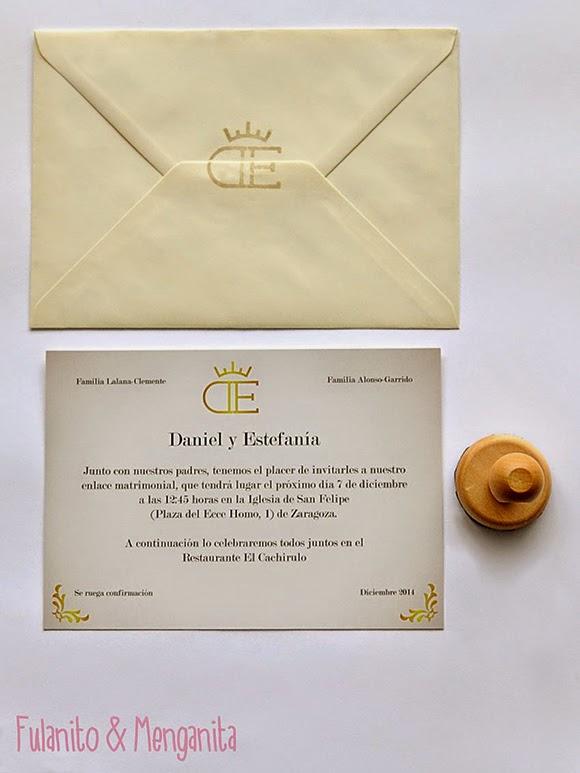Invitaciones personalizadas con estilo taurino
