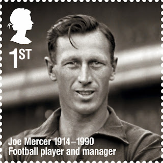United Kingdom:The Life Of Football Legend Joe Mercer (R) Royal Mail