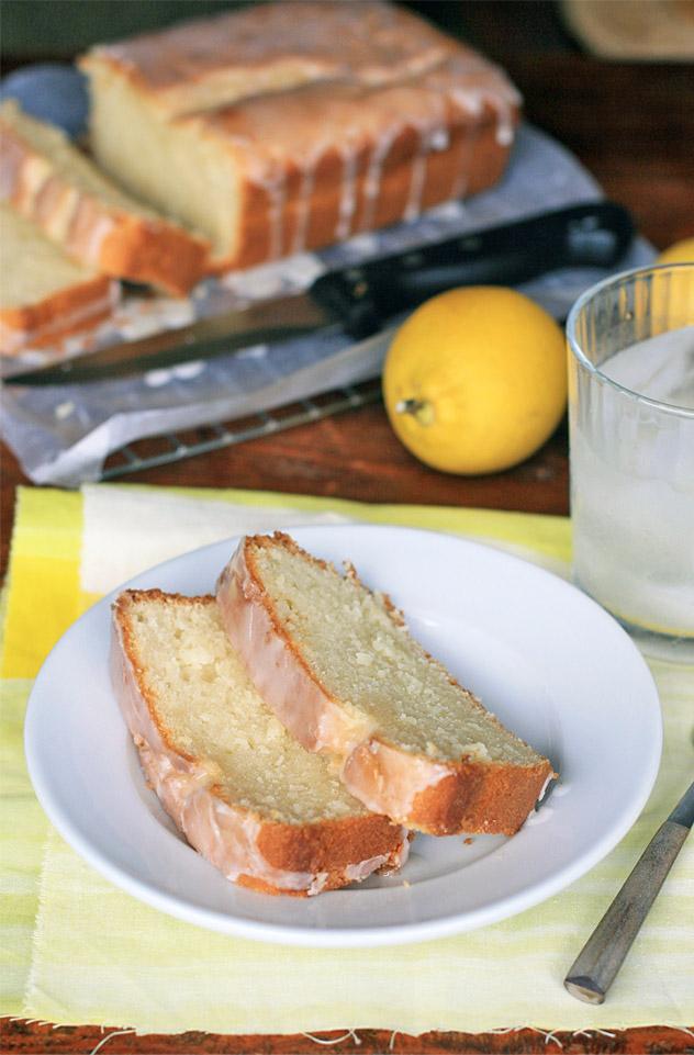 how to make lemon glaze for lemon cake