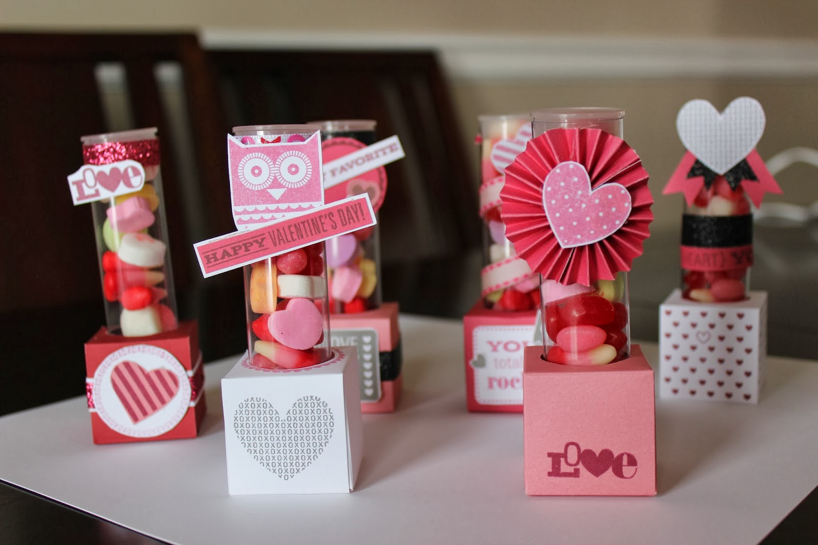 Valentine\'s Day Candy Boxes - Love Create Celebrate