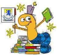 Ella es la Cuncuna Rayo de Luna que vive en la Biblioteca