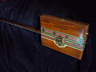 how to make a one string cigar box guitar