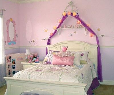 Dormitorios de princesa disney dormitorios colores y estilos for Girl princess bedroom ideas