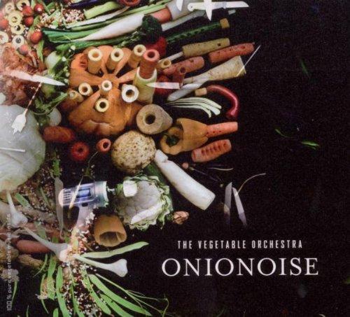 Onionoise. Portada del disco de La Orquesta de las Verduras
