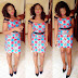 Asoebi Style: Hot and Simple Ankara Gown