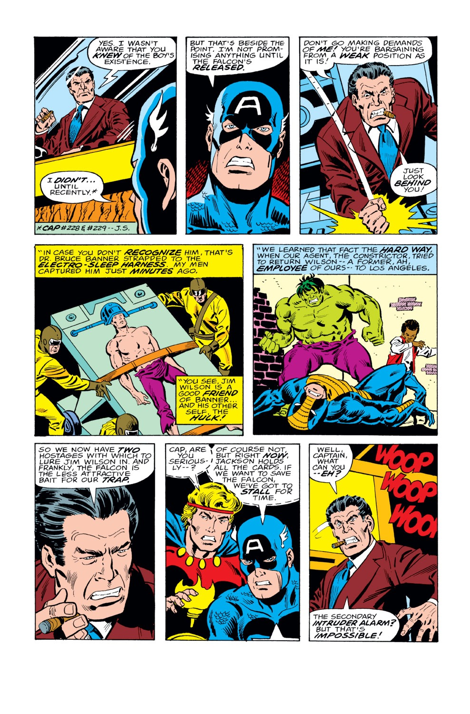 Captain America (1968) Issue #230 #144 - English 11