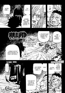 Naruto Shippuden Manga 602